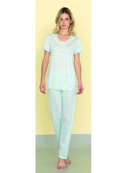 scarpe di separazione a6c55 153d8 SISTERS pigiama donna estivo tre pezzi in morbido cotone art. 812253 TRIS