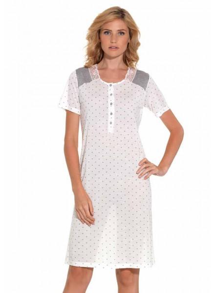 negozio online 79b70 11166 Camicia da notte donna estiva mezza manica