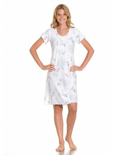 negozio online 8c877 2a75d Camicia da notte donna estiva mezza manica