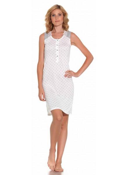 new product 0eac9 7de4b Camicia da notte donna estiva spalla larga