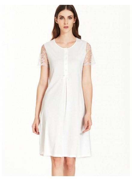 new style e2262 7baea Ragno-camicia-da-notte-donna-mezza-manica-articolo-n13447