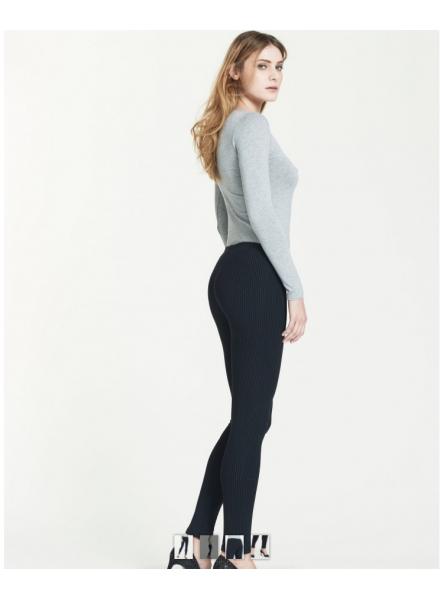 41cc6388b529 RAGNO leggins donna in cotone elasticizzato felpato art 70080T