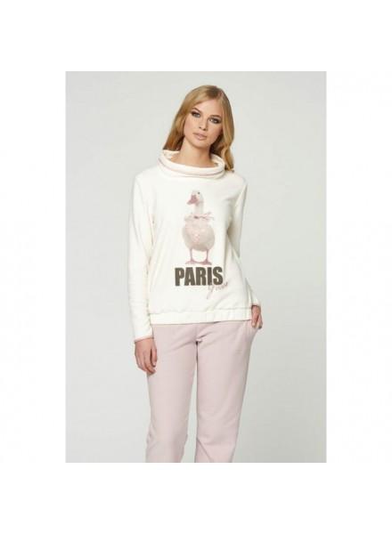 rivenditore all'ingrosso eac0c 7fcef PEPITA pigiama invernale donna in caldo tessuto in pile art LOUVRE