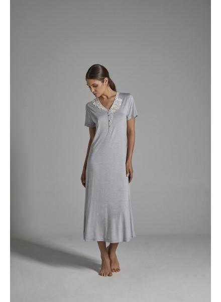 lowest price 8e17e 0947f VERDIANI camicia da notte estiva mezza manica